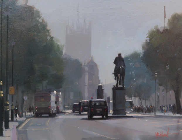 Michael Ashcroft MAFA, Whitehall, Into the Light, 2019