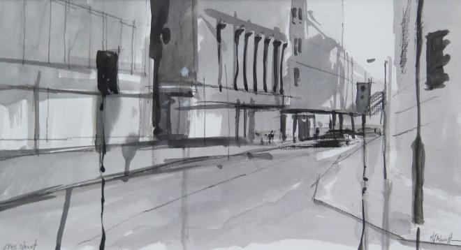 Michael Ashcroft MAFA, Cross Street (2), 2018
