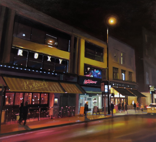 Michael Ashcroft MAFA, A Night on the Town, Manchester