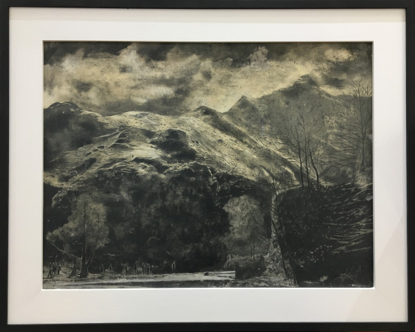 Dean Entwistle, Dovedale Stepping Stones #2, 2018