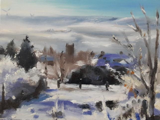 Liam Spencer, Newchurch Snow, 2018