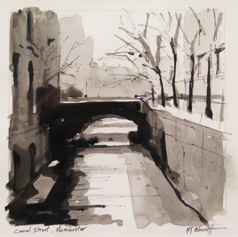 Michael Ashcroft MAFA, Canal Street, Manchester, 2018