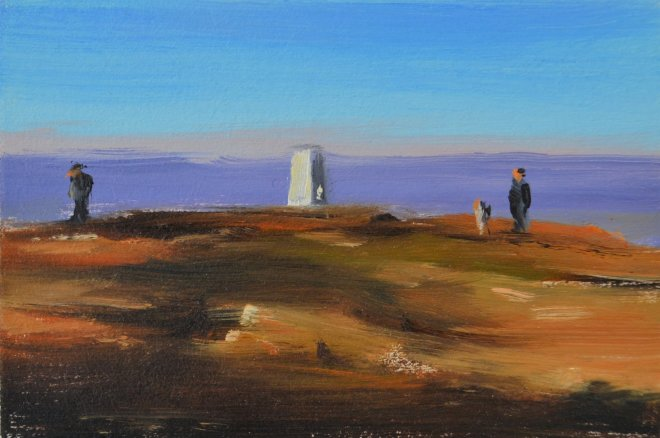 Liam Spencer, Trig Point, Pendle Hill, 2018