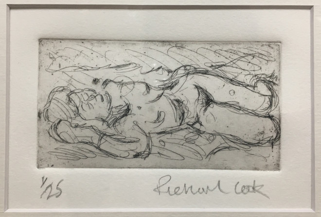 Richard Cook, Reclining Nude #1