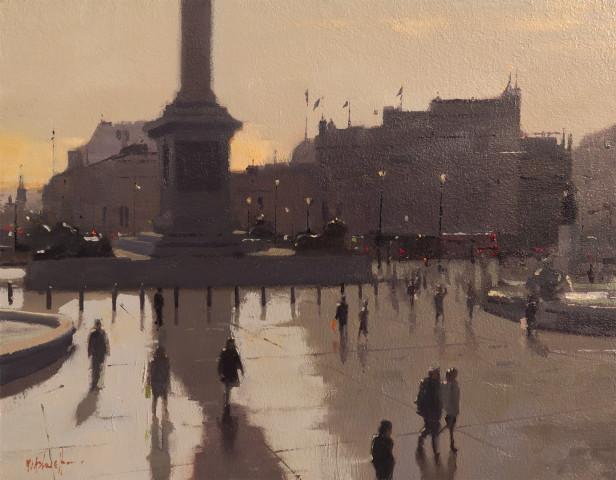 Michael Ashcroft MAFA, Trafalgar Silhouettes, London, 2019