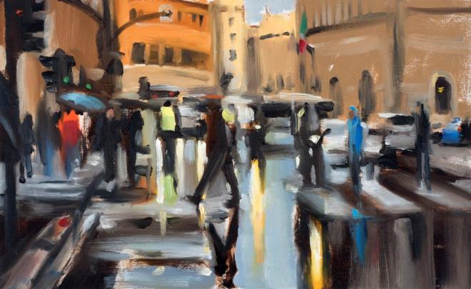 Liam Spencer, Roman Crossing