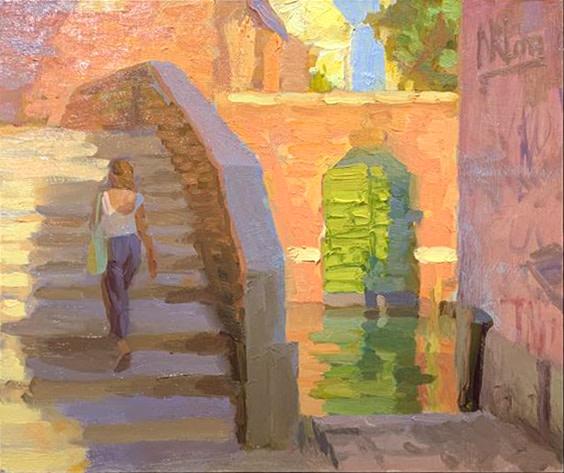 Norman Long MAFA, Steps to Peace, Venice