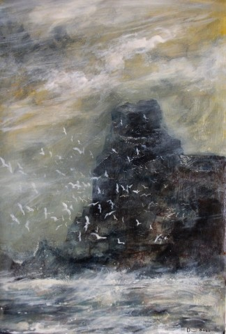 David Bez, Rough Sea, 2018