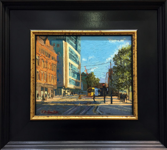 Steven Smith, Tram from St. Peter's Square, Princess St., Manchester