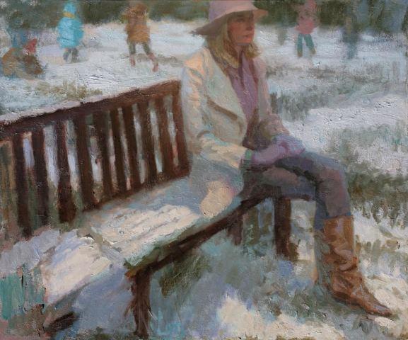 Norman Long MAFA, Winter Playground, 2020