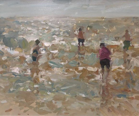 Adam Ralston MAFA, Seaside Escape, 2018