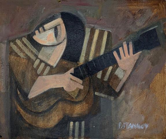 Peter Stanaway MAFA, Play a song for me (Bob Dylan, Mr Tamborine Man), 2020