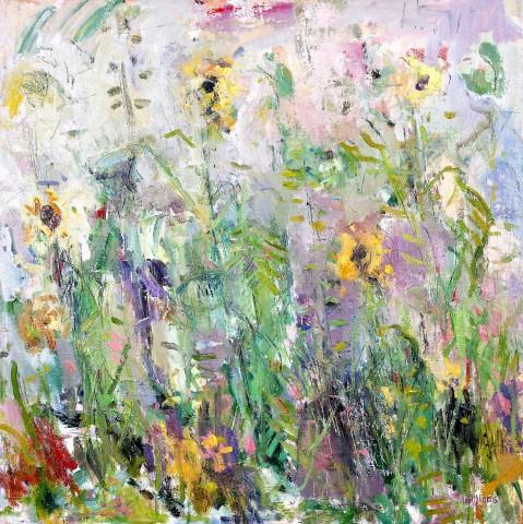 Ian Norris MAFA, Autumn Sunflowers