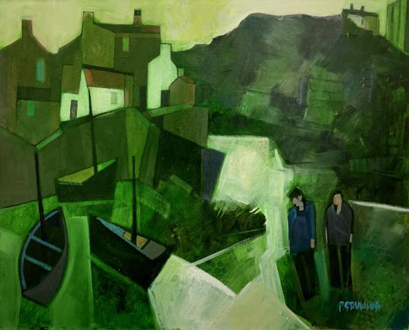 Peter Stanaway MAFA, Staithes North Yorkshire, 2020