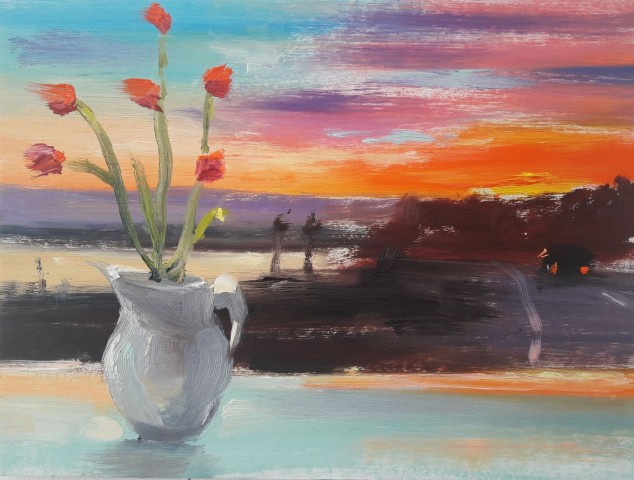 Liam Spencer, Flowers and Sunset