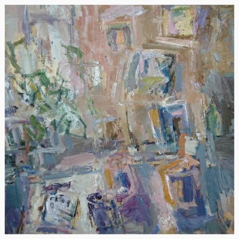 Ian Norris MAFA, Plant Bookcase and Paint Pots