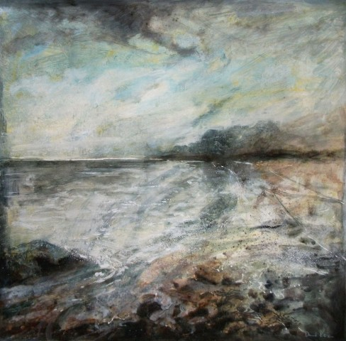 David Bez, Across the Beach, 2018