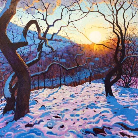 Chris Cyprus, Winters Glow, 2018