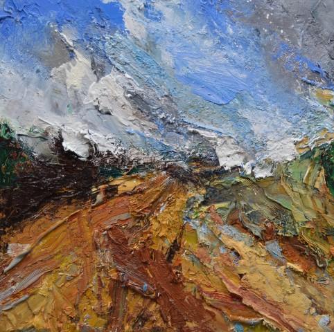 Matthew Bourne, After The Harvest, Towards Several Wood, Derbyshire