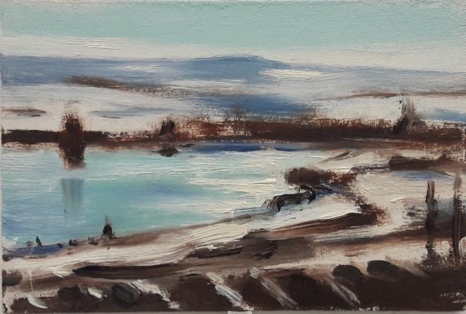 Liam Spencer, Wintry Landscape, 2020
