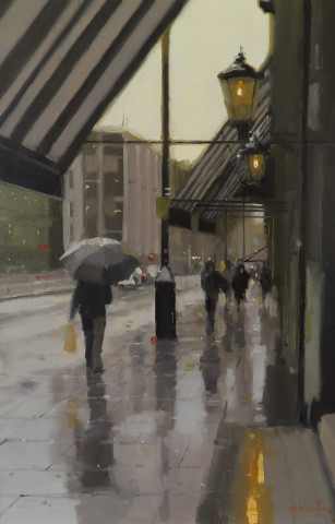 Michael Ashcroft AROI MAFA, Rainy Days, Manchester