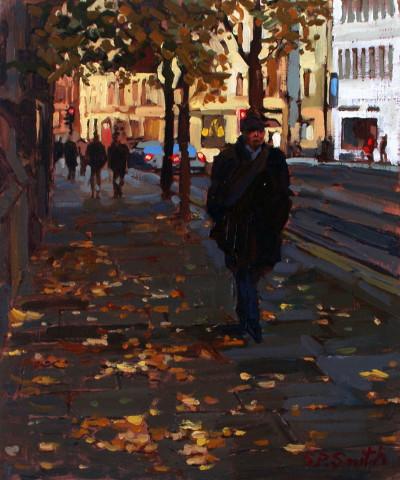Steven Smith, Princess Street in Autumn, Manchester