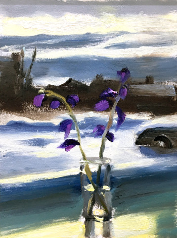 Liam Spencer, Gladioli & Snow, 2019