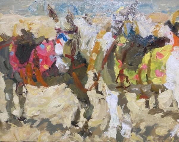 Adam Ralston MAFA, Beach Donkeys