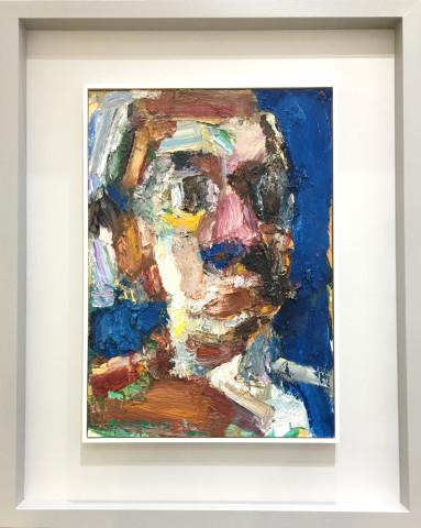 Craig Jefferson, Head Study (Blue)