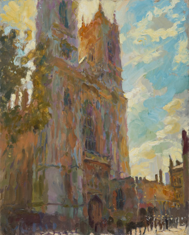 Rob Pointon AROI RBSA MAFA, Midday, Westminster Abbey, 2018