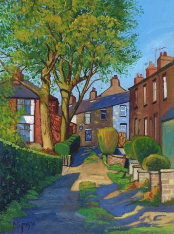 Chris Cyprus, Sunny Street, 2018