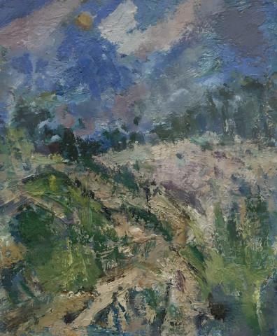 Ian Norris MAFA, Path Through the Sand Dunes, 2016