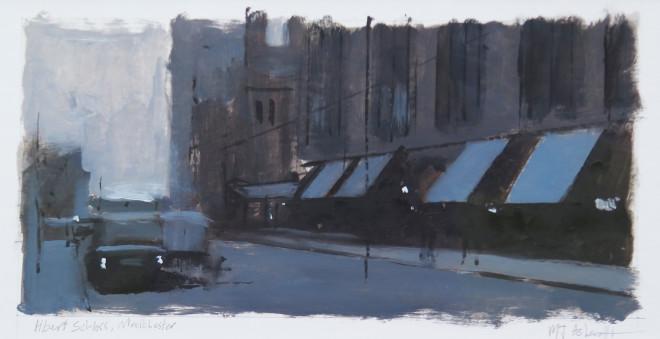 Michael Ashcroft MAFA, Albert's Schloss, 2018