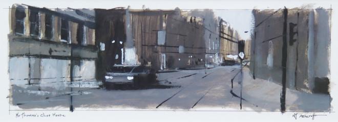 Michael Ashcroft MAFA, Mr Thomas's Chophouse, 2018