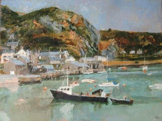 Anne Aspinall MAFA, Barmouth Harbour , 2019