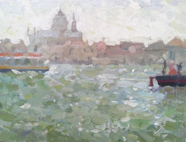 Adam Ralston MAFA, Grand Canal Vaporetto, 2018