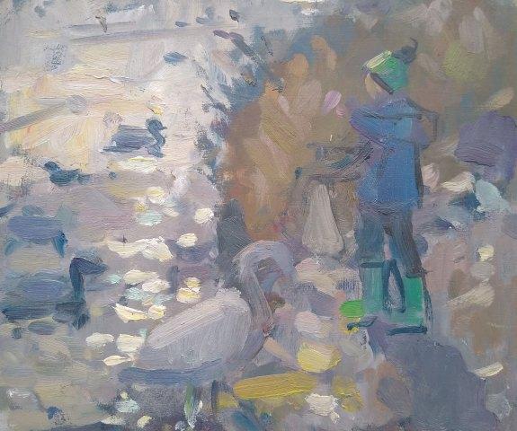 Andrew Farmer ROI, Feeding the Ducks 1