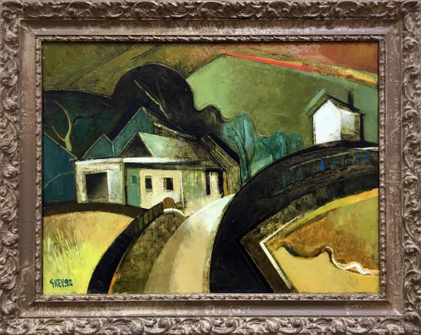 Geoffrey Key, Farm Lane, 1992