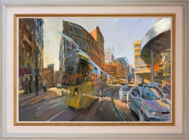 Rob Pointon ROI, Curving past the Arndale, 10/2019