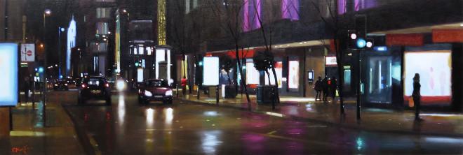 Michael Ashcroft AROI MAFA, Deansgate Shoppers, Manchester