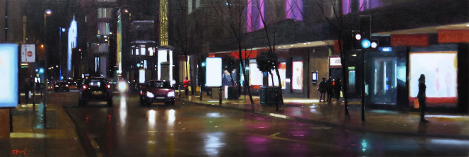 Michael Ashcroft MAFA, Deansgate Shoppers, Manchester