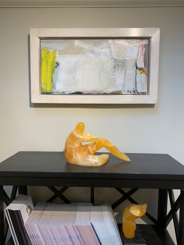 Felice Hodges, Jug in Neon Yellow (London Gallery)