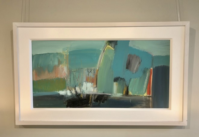 Dafila Scott, A Walk by the Water (Hungerford Gallery)
