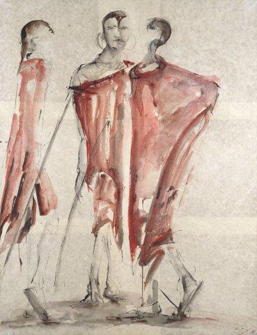 Christine Seifert, Maasai Conversation