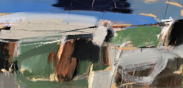 Dafila Scott, Blue Sky and Clouds (Hungerford Gallery)
