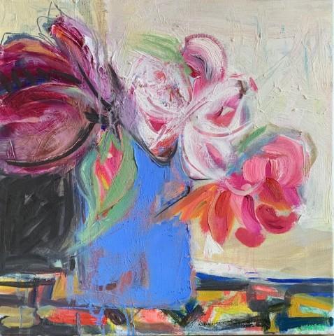 Annie Field, Blue Jug (Hungerford Gallery)