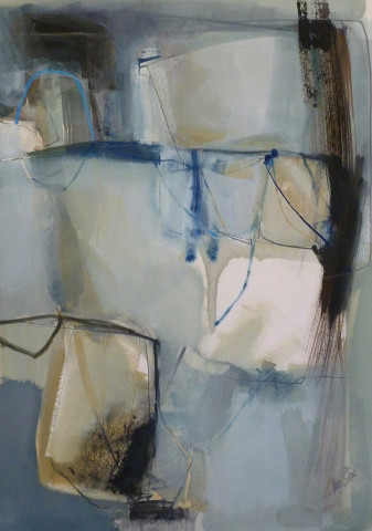 Chris Sims, Even Now (Mounted) (Hungerford Gallery)