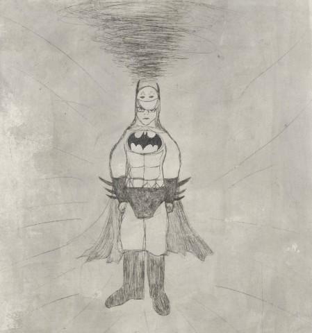Kate Boxer, Batman (Mounted)