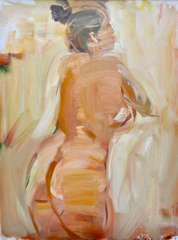 Kneeling Nude (Hungerford Gallery)