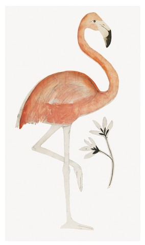 Beatrice Forshall, Flamingo (Unframed)
